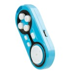 ENHANCE Wireless Bluetooth Remote with Selfie Camera Shutter Control and Micro-USB Charging Port
