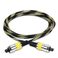 Data Stream Digital Audio Optical TOSLink Cable