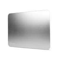 ENHANCE Aluminum Mousepad with Natural Rubber Backing & Low-Friction Tracking Surface