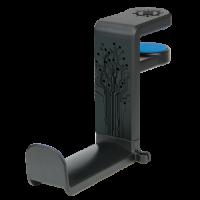 ENHANCE Desk Gaming Headset Holder with Clamp On Under Desk Design & Cable Clip