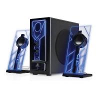 BassPULSE Bluetooth Speakers with Subwoofer, AUX Port & 33-foot range