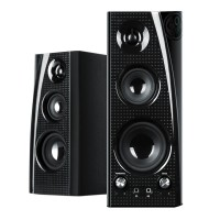 BlueSYNC SLK Dual Wireless Bluetooth Tower Speakers