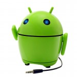 Pal Bot 3.5mm Android Robot Rechargeable Speaker