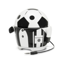 Groove Pal Soccer Bot Rechargeable Portable Multimedia Speaker
