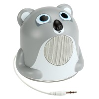 Groove Pal Portable Speaker with Glowing LED Base & 3.5mm Jack - Koala Jr.