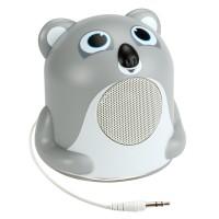 Groove Pal Portable Speaker with Glowing LED Base & 3.5mm Jack - Koala Jr.