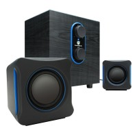SonaVERSE LBr USB Powered 2.1 Computer Speaker System