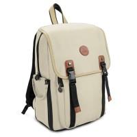 GOgroove Multifunction DSLR Camera Backpack - Beige