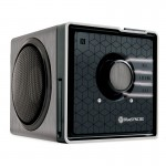 BlueSYNC BX Portable Bluetooth Speaker with NFC Pairing -Silver