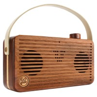 BlueSYNC WUD Retro Wood Bluetooth Wireless Speaker