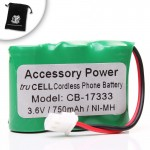 High Capacity truCell Replacement SouthWestern Bell BT17333 Cordless Phone Battery for GH3028 / FF728 / S60518 Cordless Phones and More !