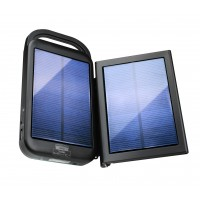 Solar Charger ReVIVE 6000mAh Outdoor Portable Charger Solar Power Bank 2.1A USB Battery Pack