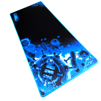 ENHANCE Pathogen XXL Blue Extended Gaming Mouse Mat / Pad