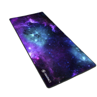 "ENHANCE Pathogen GX-MP2 XL Extended Gaming Mouse Pad Mat (31.5"" x 13.75"") with Low-Friction Tracking Surface - Galaxy"
