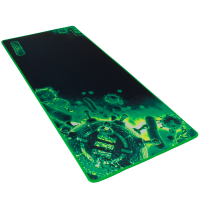 ENHANCE Pathogen GX-MP2 XXL Extended Gaming Mouse Mat / Pad ( 31.5 x 13.75 Inches ) - Green