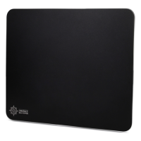 Enhance Aluminum Mouse Pad with Natural Rubber Backing & Low-Friction Tracking Surface - Black