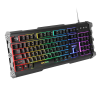 ENHANCE INFILTRATE LED Gaming Keyboard - 9 Lighting Modes with Soundwave Lighting Activation