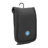 ENHANCE Gaming Mouse Travel Case Features Protective Neoprene Construction , Cable Storage and Carrying Carabiner