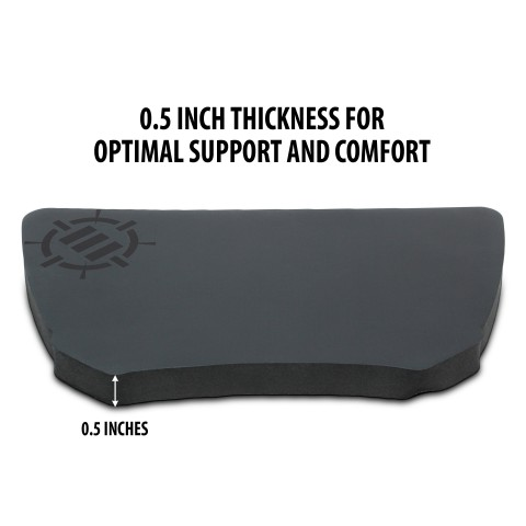 ENHANCE Mouse Wrist Rest Pad for PC Gaming and eSports Professionals with Ergonomic Support
