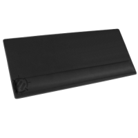ENHANCE Large Extended Gaming Mouse Pad with Memory Foam Wrist Rest Support - Blackout