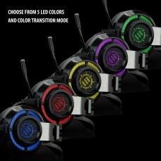 ENHANCE SCORIA PC Gaming Headset w/ 7.1 Virtual Surround , Adjustable Vibration - Black
