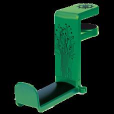 Gaming Headset Holder Hanger Mount by ENHANCE - Adjustable Under Desk Design - Green