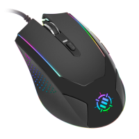 ENHANCE Gaming Mouse with 3500 DPI & High-Precision Optical Sensor for PC