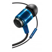 Rugged AudiOHM RNF Blue Ergonomic Headphones with Lifetime Warranty by GOgroove