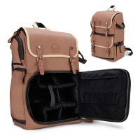 GOgroove Professional DSLR Camera Backpack Case for Photography and Laptop Travel Use