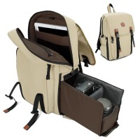 GOgroove Multifunction DSLR Camera Backpack