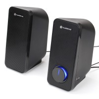GOgroove SonaVERSE UB2 Computer Speakers UB2 Multimedia USB Powered PC Speakers for Desktops & Laptops