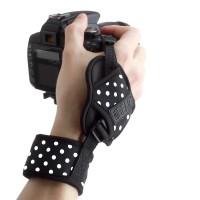 USA Gear TrueSHOT Digital Film DSLR Camera Hand Grip Strap