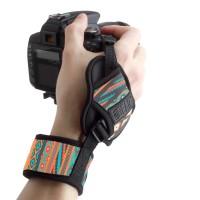 USA Gear TrueSHOT Digital Film DSLR Camera Hand Grip Strap - Southwest