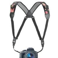 USA Gear TrueSHOT Digital Camera Harness - Floral