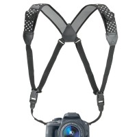 USA Gear TrueSHOT Digital Camera Harness - Polka Dot