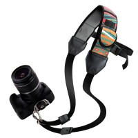 USA GEAR TrueSHOT Rapid Fire Camera Neck Strap Sling with Adjustable Neoprene and Gliding Buckle - Southwest