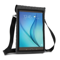 USA Gear Neoprene Tablet Sleeve with Touch Capacitive Screen Protector & Adjustable Shoulder Strap