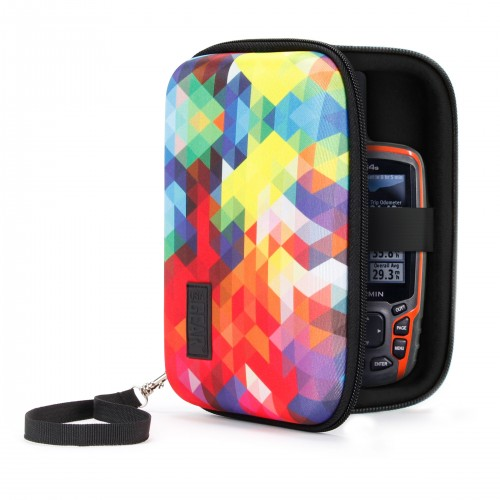USA GEAR H Series Hard Shell 6.5 Protective Carrying Case - Geometric