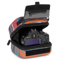 Quick Access DSLR Hard Shell Camera Case w/Molded EVA Protection and Accessory Storage - by USA Gear - Southwest
