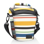 USA Gear Portable DSLR Camera Case Bag with Top Loading Accesibility and Shoulder Sling