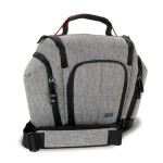 USA GEAR UTX Camera Case with Weather Resistant Bottom, Soft Cushioned Interior and Side Pockets