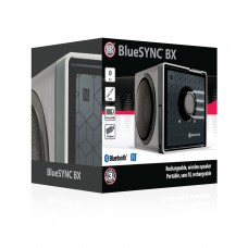 Portable Wireless Bluetooth Speaker with NFC Technology and Removable Battery - Wireless - Silver