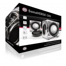 SonaVERSE CRS USB Powered 2.0 Mini Computer Stereo Speakers