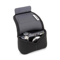 USA GEAR Neoprene Digital Camera Case for Compact Interchangeable Pancake Lens Cameras