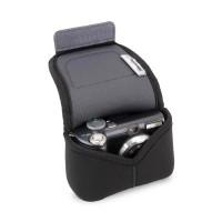 USA GEAR Neoprene Digital Camera Case for Compact Interchangeable Pancake Lens Cameras