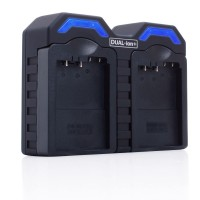 ReVIVE DUAL-ion+ BP-1310 ( BP1310 ) Camera Battery Charger with AC and DC Adapter and Interchangeable Charging Plates