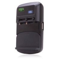 ReVIVE PowerUP Li Universal Battery Charger with Sliding Contact Pins & USB Port