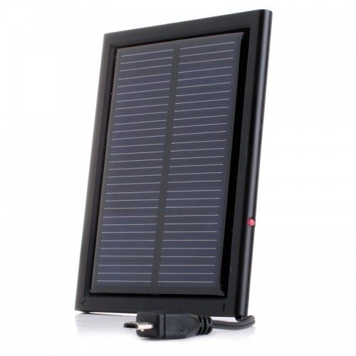 Solar Charging Panel Extension for ReVIVE Series SolaReStore Backup Battery Pack - Black