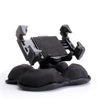 USA GEAR Car Dashboard Cell Phone Mount Bracket with Nonslip Beanbag Base