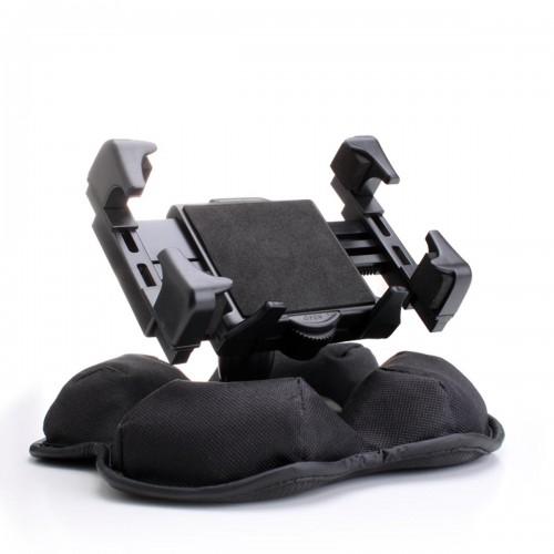 USA GEAR Car Dashboard Cell Phone Mount Bracket with Nonslip Beanbag Base